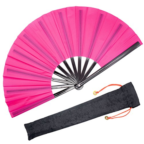 durable lace hand fan - 7