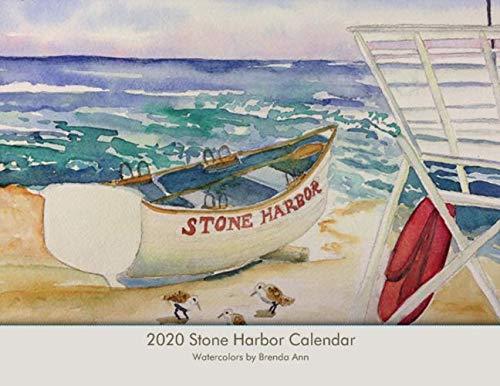 (2020 Stone Harbor NJ Wall Calendar - Beach Scenes and Landmarks)