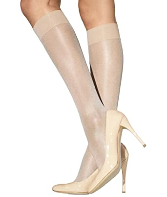 adce5dce51b Wolford Women s Satin Touch 20 Knee Highs  Amazon.co.uk  Clothing