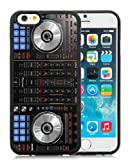 Pioneer DJ Mixer Deck Controller Black Phone Case for iPhone 6S 4.7 Inch,iPhone 6 TPU Case