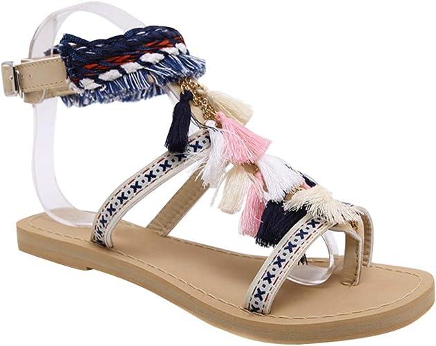Daytwork Boho Sandals Flip Flops Women