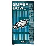 "Philadelphia Eagles Super Bowl LII Champions 30"" x 60"" Beach Towel"
