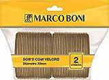 Bobs Grande de Velcro Marco Boni, 75mm, Pacote Com 2 unidades, Marco Boni (cores sortidas)