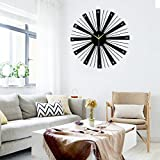 The fashion of modern living room wall clock character bedroom wall quartz clock