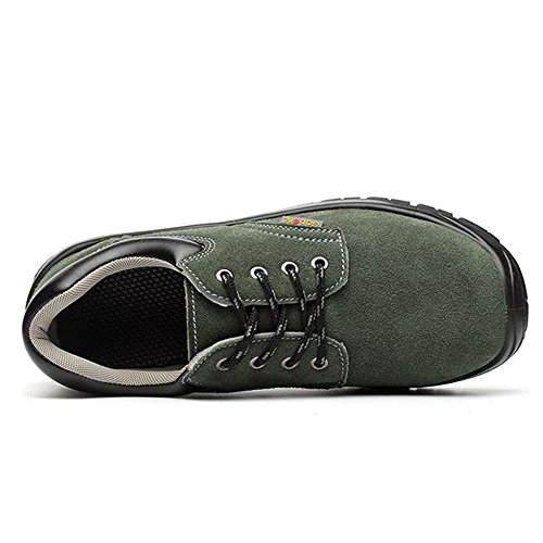 Eclimb Women's Shoes Toe Athletic Work Steel Gray Shoes Safety wFfdnwqr