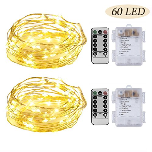 Led Lights Gold Wire - 2