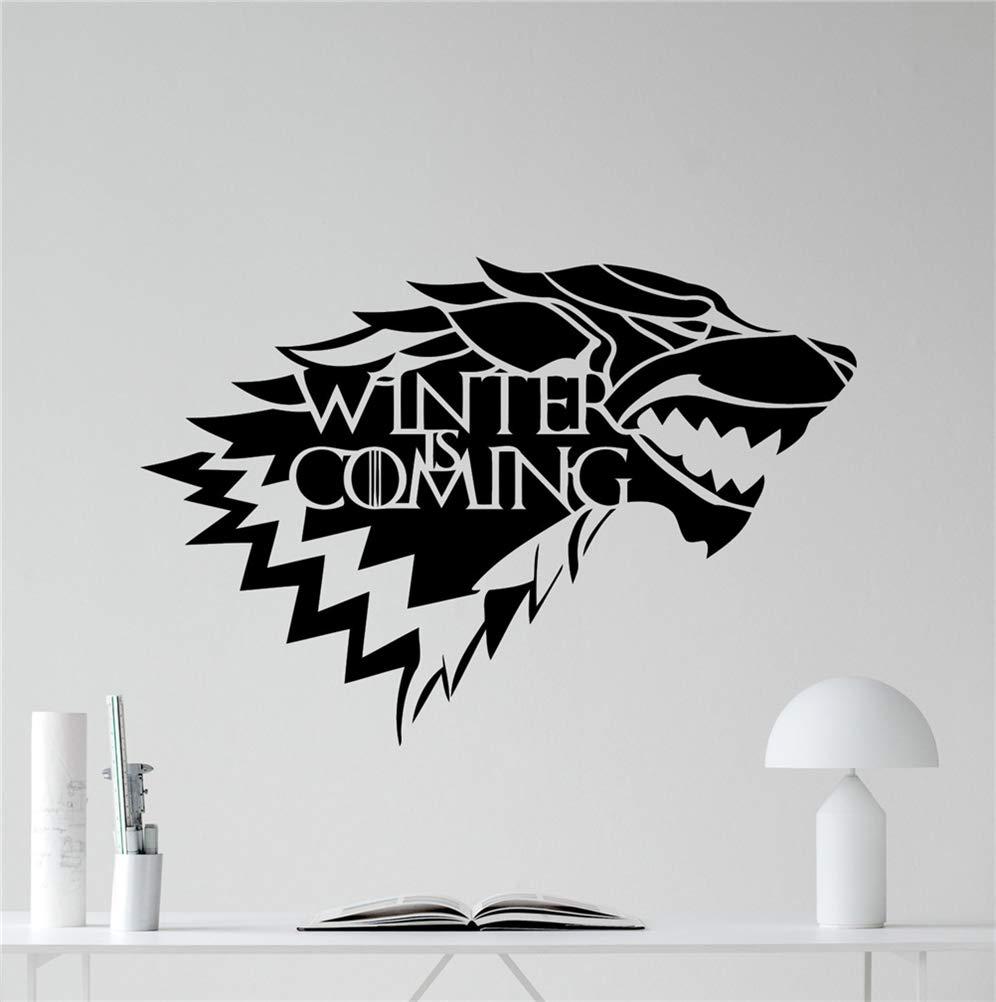 pegatinas de pared tortugas ninja House Of Stark Logo ...