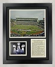 Legends Never Die Oakland Raiders Stadium Framed Photo Collage, 11x14-Inch