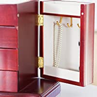 Mele Harmony Musical Wooden Jewelry Box - 10.5W x 9.5H in.