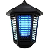 Pestnot BZ1a-20W Bug Zapper Outdoor Mosquito Killer - 2019 Upgraded 20W 3U UVA Shape Light Bulb, Quality Insect Killer Mosquito Pest Control, Powerul, Proffessional Electric Fly Zapper, 1/2-1 Acre. Indoor Outdoor IP24 Water Resistance