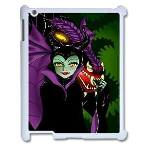 IPad 2,3,4 Cell Phone Case for Classic Theme Disney Maleficent Cartoon pattern design GDSNMLT11885