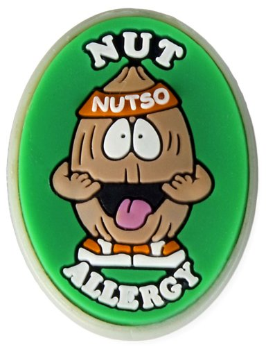 Allergy Tree Nuts - AllerMates Tree Nut Allergy Charm for Multi-Allergy Wristband: Nutso