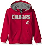 """NCAA by Outerstuff NCAA Washington State Cougars Kids & Youth Boys """"Stated"""" Full Zip Hoodie, Victory Red, Youth Medium(10-12)"""