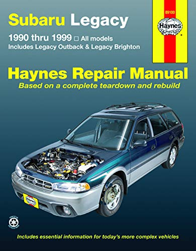 (Subaru Legacy '90 THRU '99 (Haynes Repair Manual))