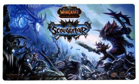 WOW WORLD OF WARCRAFT SCOURGEWAR PLAYMAT GAME MAT PAD (World Of Warcraft Mouses)