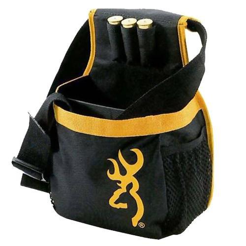 Browning Long Pure Buckmark Bag, Black/Gold