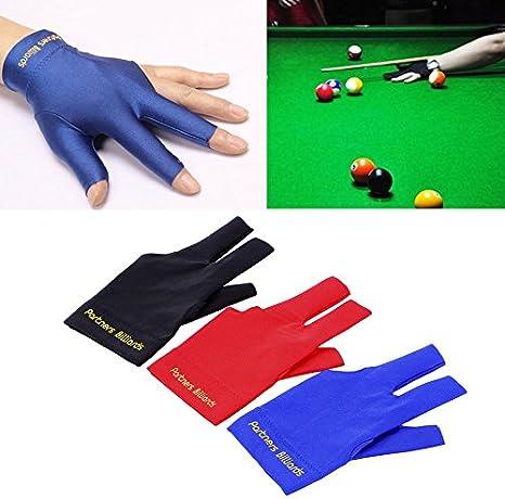 Spandex Snooker - Guante de billar para piscina, mano izquierda, accesorio de tres dedos: Amazon.es: Bricolaje y herramientas