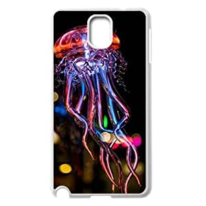Colorful jellyfish The Unique Printing Art Custom Phone Case for Samsung Galaxy Note 3 N9000,diy cover case ygtg-710589