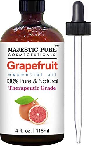 Grapefruit Essential Oil from Majestic Pure, 4 fl oz