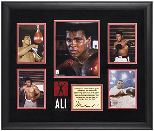 Muhammad Ali Framed 5-Photograph Champions Presentation-Limited Edition of 500 - Boxing Plaques and Collages