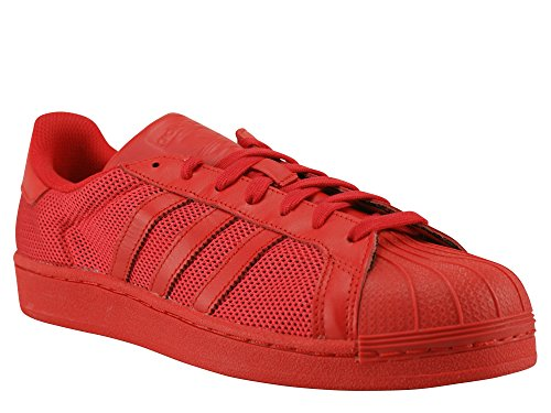Mixte Superstar adidas Adulte Colred Mode Baskets Colred Colred Rosso wxAqxtr
