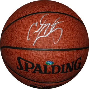 Carmelo Anthony Autographed Mounted Memories Basketball-Indoor/Outdoor (Carmelo Anthony Autographed Basketball)