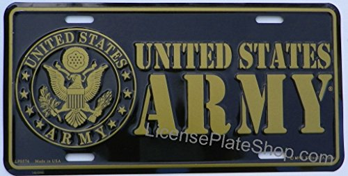US-Army-License-Plate