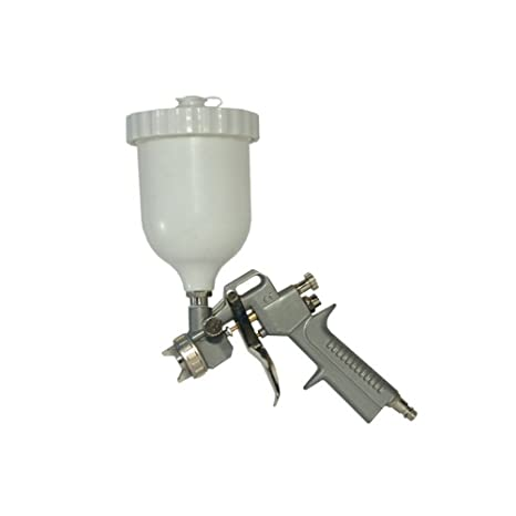Pistola pintura con depósito superior ABAC Ref.: 8973005877 para compresor de aire - Aerógrafo