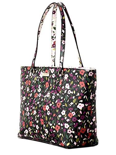 Kate Spade Inch 10 (Kate Spade Women's Laurel Way Boho Floral Medium Dally Leather Handbag Tote)