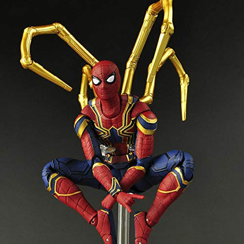 Avengers Marvel Spiderman Infinity War Iron Spider-Man Action Model Figure with Color Package