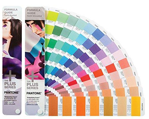 PANTONE Swatch Pants T GP1601N Formula Guide/ 2 book set ( Coat Paper, High-quality paper) [ 1, 867 color]