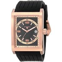 Swiss Legend Men's 40012-RG-01 Limousine Analog Display Swiss Quartz Black Watch
