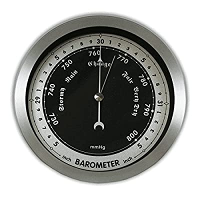 """Ambient Weather WS-152B 6"""" Contemporary Barometer by Ambient Weather"""