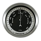 "Ambient Weather WS-152B 6"" Contemporary Barometer"