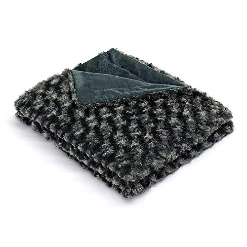 Simple&Opulence Super Soft Microfiber Stereo Rose Pattern Home Furnishing Throw Blanket (Green) ()