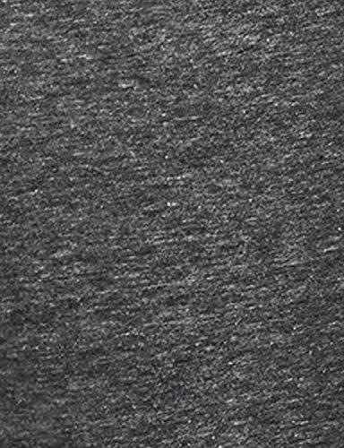 Regna X Womens Sleeveless Basic Solid Long v Neck Triblend Tank Tops Black M by Regna X (Image #5)