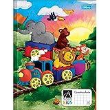 Caderno Brochura Capa Dura Quadriculado 7x7mm Académie Kids - 40 Folhas