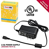 CanaKit 5V 2.5A Raspberry Pi 3 Power Supply / Adapter / Charger (UL Listed)
