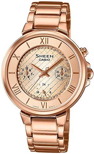CASIO watch SHEEN SHE-3040GJ-9AJF Ladies