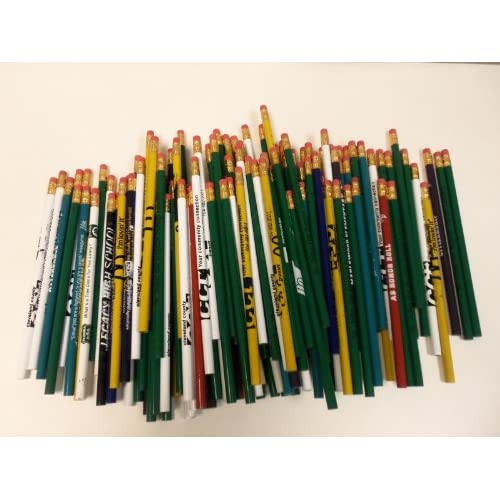 Hot 144 Lot Misprint Pencils with Rubber Eraser #2 Lead, Bulk Wholesale Lot free shipping