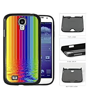 Rainbow Colored Art Painting Of Rippled River Hard Plastic Snap On Cell Phone Case Samsung Galaxy S4 SIV I9500