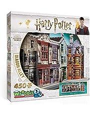 Wrebbit 3D W3D-1010 Harry Potter Pz. 3D HP Winkelgasse 450T, bunt