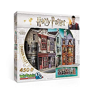 Wrebbit W3d 1010 Puzzle 3d Diagon Alley 450 Pezzi