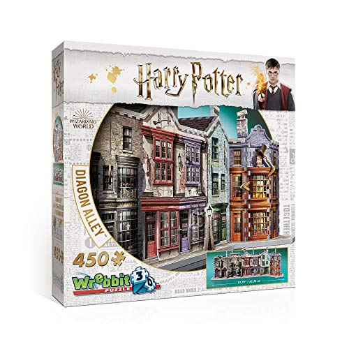 (WREBBIT 3D Diagon Alley 3D Jigsaw Puzzle (450 Pieces))