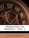 Democracy in America, Alexis de Tocqueville, 1147090718