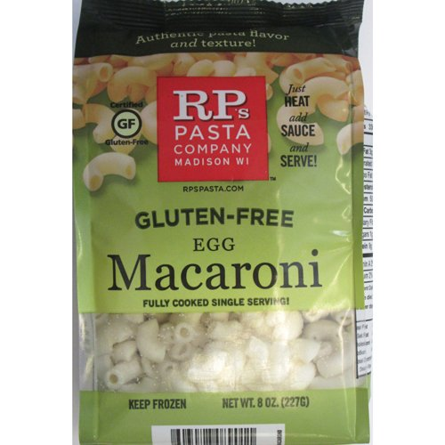 Gluten Free Brown Rice Macaroni Pasta, Cooked, IQF Frozen - 8 oz (Pack of 12) (Rp Gluten Free Pasta compare prices)