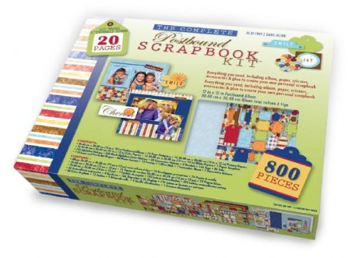 The Complete Scrapbook Kit 12 Inch x12 Inch Postbound Memory Album ()