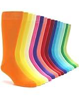 Boldsocks Solid Color Men's Dress Socks