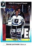 (CI) David Littman Hockey Card 1992-93 Atlanta