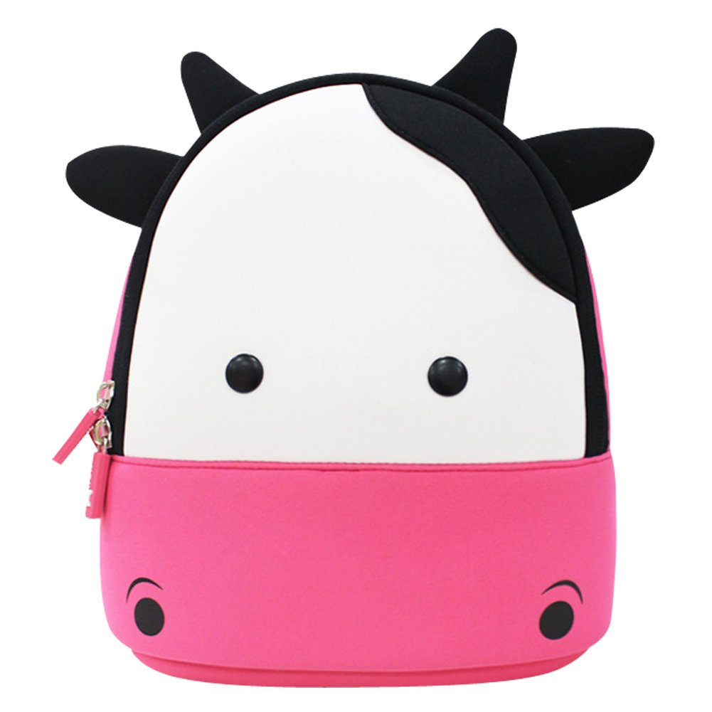 61a445947c Girls Backpack Pink Cow BINGONE Kids Small Shoulder Bag for School Travel  Great Gift for Children  Amazon.co.uk  Sports   Outdoors